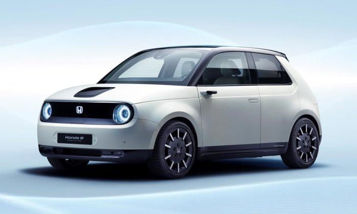 Honda ukázala malé elektrické vozítko E Prototype sroztomilým výrazem