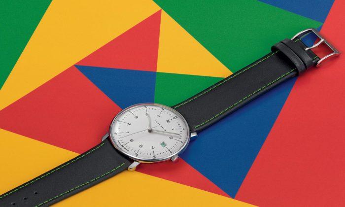 Junghans přichází kvýročí Bauhausu slimitovanou edicí hodinek odMaxe Billa