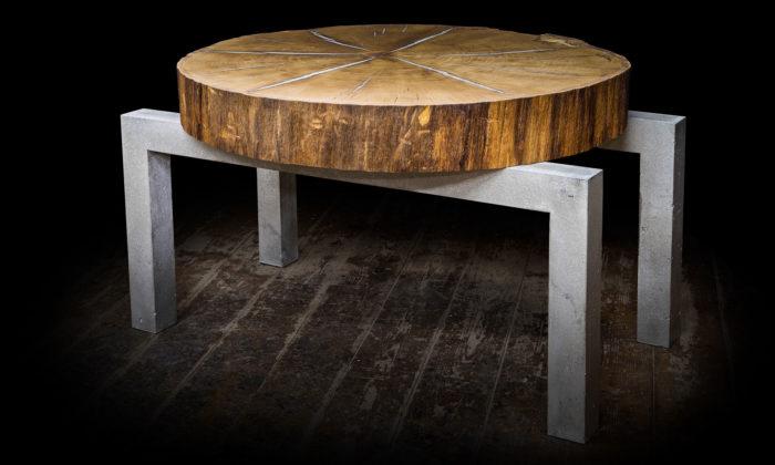 Marian Sekula vyrábí ze dřeva adalších krásných materiálů plastiky inábytek