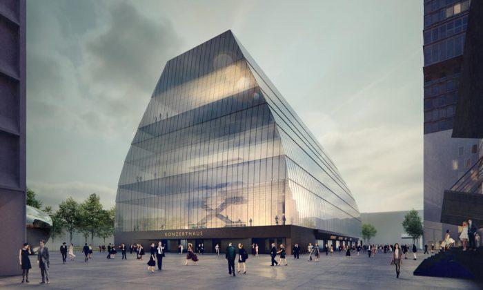 Mnichov postaví transparentní koncertní síň smonolitickým designem