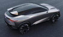 Koncept crossoveru Nissan IMQ