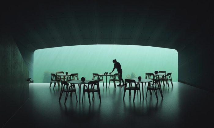 Norsko otevřelo první evropskou podvodní restauraci Under