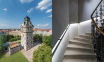 Letenská vodárenská věž s observatoří od Petr Hájek Architekti