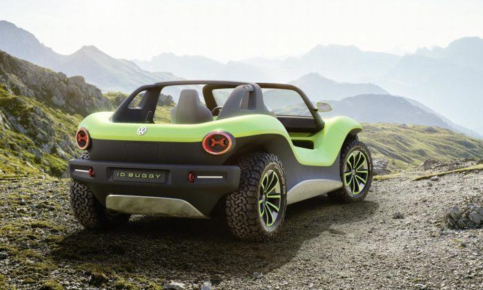 Volkswagen ukázal elektrickou I.D. Buggy navrženou pro volný čas