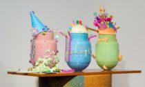 Výstava Fresh Colours / Svěží barvy vpražském Muzeu skla Portheimka