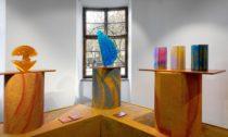 Výstava Fresh Colours / Svěží barvy v pražském Muzeu skla Portheimka