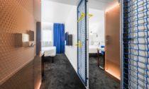 Typizovaný pokoj pro Hotel Ibis Praha odpražského ateliéru ZOAA