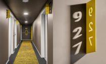 Typizovaný pokoj pro Hotel Ibis Praha od pražského ateliéru ZOAA