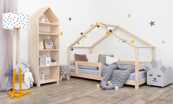 Česká značka Benlemi vyrábí postele anábytek pro děti stvarem domečku