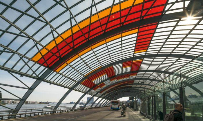 Benthem Crouwel Architects vystavují vPraze chytrá řešení problémů velkých měst