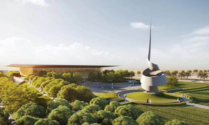Emiráty postaví knihovnu Sharjah odFostera sesochou odJudaha