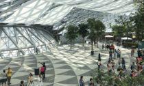 Jewel Changi Airport v Singapuru od Safdie Architects
