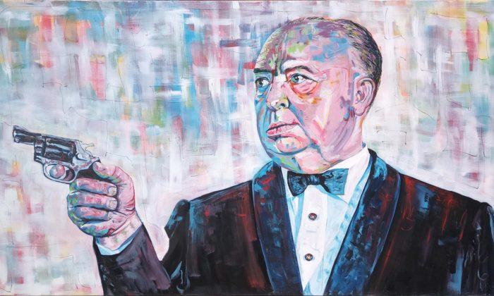 Vít Navrátil maluje velké portréty slavných vespontánním realismu