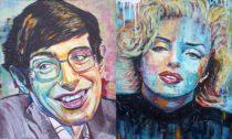 Obrazy malované spontanním realimem od Navratil ART