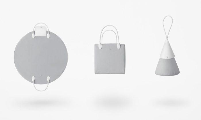 Nendo navrhlo pro Longchamp kabelky Katachi skládající sejako origami