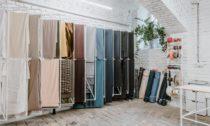 Pražský obchod Textile Mountain s udržitelným textilem a galanterií