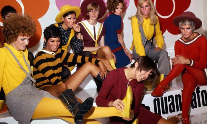 Módní návrhářka Mary Quant má vLondýně výstavu revolučních modelů z60.let