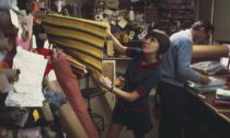 Ukázka z výstavy Mary Quant ve Victoria & Albert Museum v Londýně
