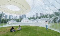 Air Mountain Pavilion od Aether Architects