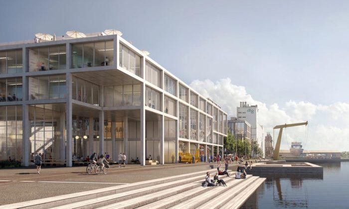 Dánsko promění přístav veSvendborgu načtvrť sbydlením akulturním centrem