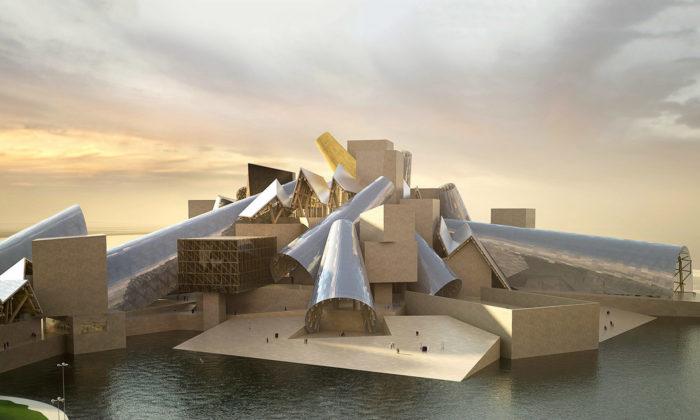 Začíná výstavba Guggenheim Abu Dhabi odarchitekta Franka Gehryho
