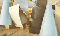 Guggenheim Abu Dhabi od architekta Franka Gehryho