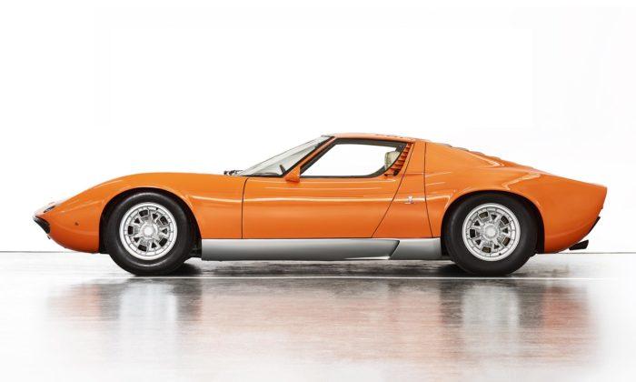 Lamborghini Miura P400 z50 let starého filmu Italian Job bylo objeveno