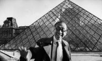 Pyramida v Louvre od Ieoh Ming Pei Foto: Marc Riboud