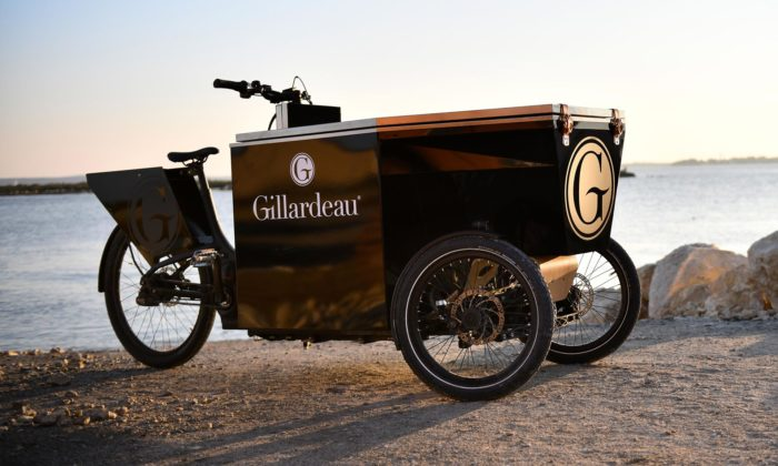Peugeot Design Lab navrhl piknikovou tříkolku vezoucí jídlo apití až pro 12lidí