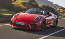 Porsche 911 Speedster narok 2019