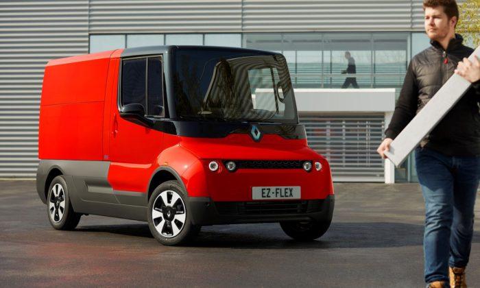 Renault EZ-Flex jemalá elektrická dodávka navržená pro doručování veměstě