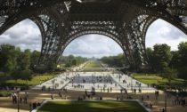 Proměna okolí Eiffelovy věže podle Gustafson Porter + Bowman