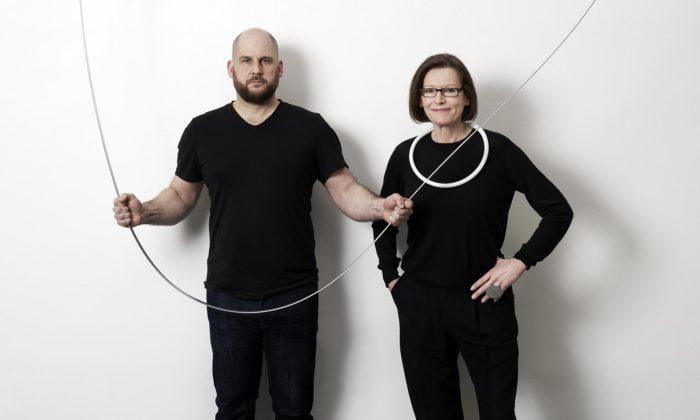 Eva Eisler aPeter Demek vystavují vJurkovičově vile geometrické objekty