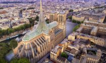 Vincent Callebaut ajeho návrh nadostavbu katedrály Notre-Dame