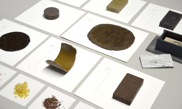 Belgičtí designéři našli náhradu za plast zkalafuny spříměsí dřeva ijehličí