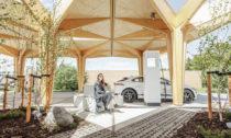 Ultra-rychlé dobíjecí stanice ve městě Fredericia od Cobe