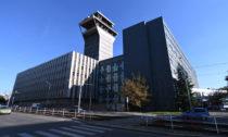 Budova bývalého Telecomu v Praze na Žižkově