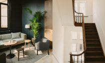 Klášter v Antverpách přestavěný na hotel August