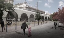 Negrelliho viadukt v Praze na vizualizacích