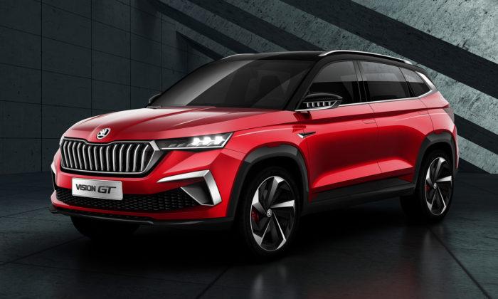 Škoda ukázala kompaktní SUV Vision GT navržené speciálně pro Čínu
