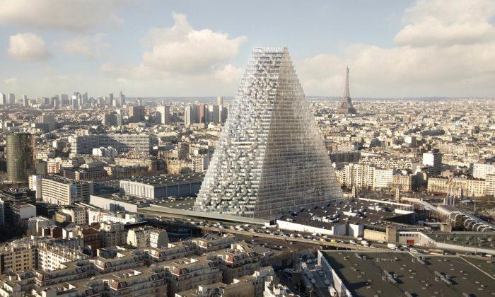V Paříži sezačne stavět obří mrakodrap Tour Triangle stvarem trojúhelníku
