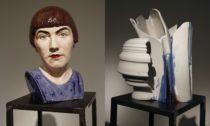 Ukázka z výstavy Výpal s podtitulem 100 let Ateliéru keramiky a porcelánu UMPRUM