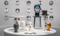 Ukázka z výstavy Fornasetti s podtitulem Inside Out Outside In