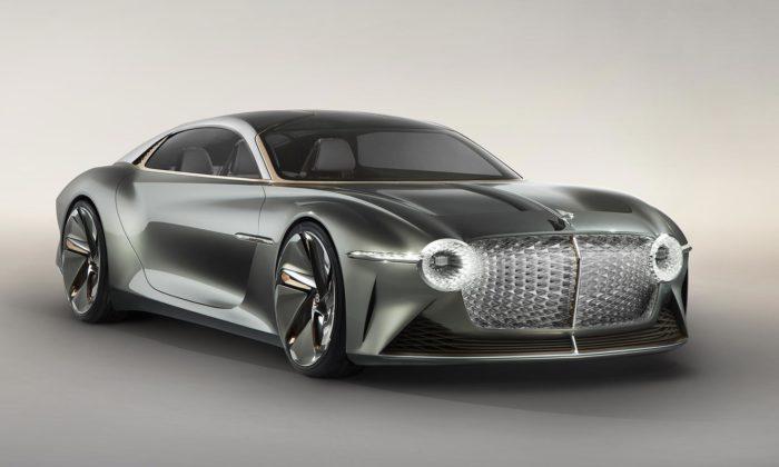 Bentley slaví 100 let luxusním futuristickým konceptem EXP 100 GT