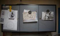 Bicykl Slavia ručně vyrobený Vladimírem Vidimem