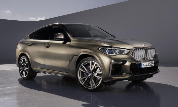 BMW ukázalo třetí generaci X6 sdravější apodsvícenou maskou