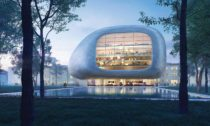 Koncertní hala pro Ostravu odstudií Steven Holl Architects + Architecture Acts