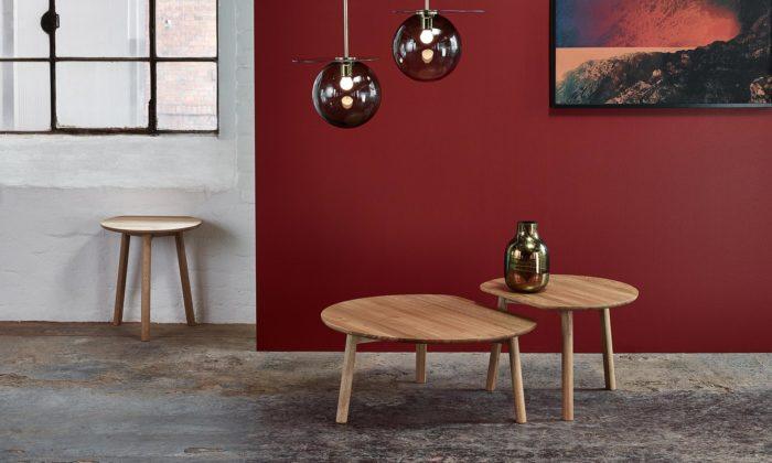 Alex Gufler navrhl pro český Ton useknuté konferenční stolky YYY