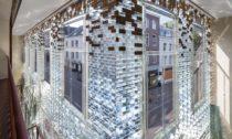 Skleněný dům Crystal Houses od MVRDV v Amsterdamu