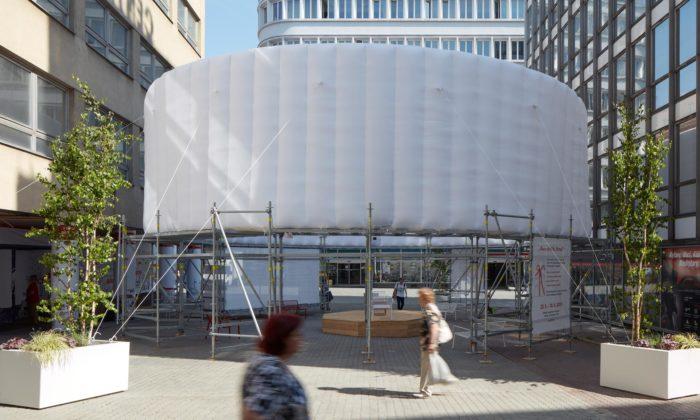 Kogaa postavili vBrně pavilon Next Gen Park upozorňující naekologickou zátěž měst